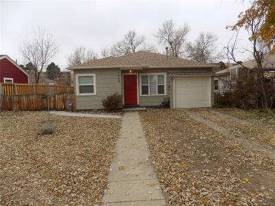 Denver Single Family Home Active: 1959 Uinta Street