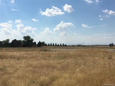 Adams County Residential Lots & Land Active: 16655 Electra Street