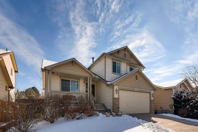 Commerce City Single Family Home Under Contract: 11488 Kenton Street