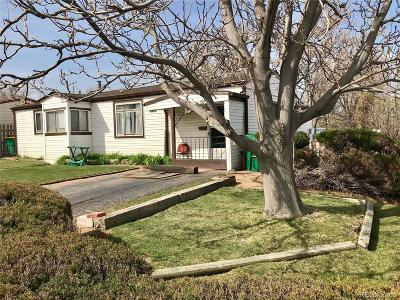 Commerce City Single Family Home Under Contract: 6471 Hudson Street