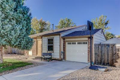 Aurora Single Family Home Under Contract: 18702 East Arkansas Place