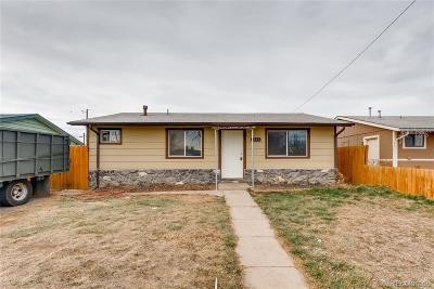 Commerce City Single Family Home Active: 6541 Albion Street
