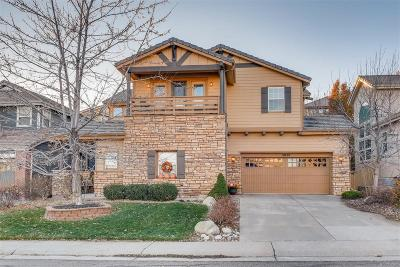 Highlands Ranch Single Family Home Under Contract: 10820 Montvale Circle
