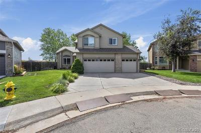Arvada Single Family Home Under Contract: 12830 West 55th Place