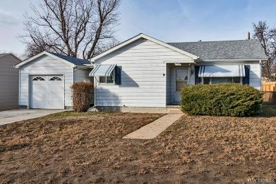 Denver Single Family Home Active: 1255 South Xavier Street