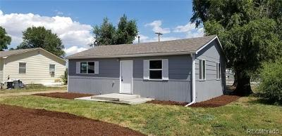 Greeley Single Family Home Active: 102 North 25th Avenue