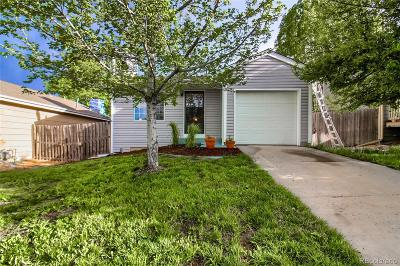 Aurora Single Family Home Under Contract: 17836 East Colgate Place