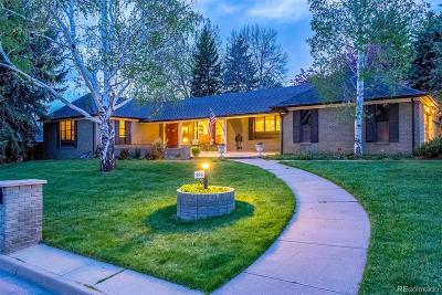 Englewood CO Single Family Home Active: $1,450,000