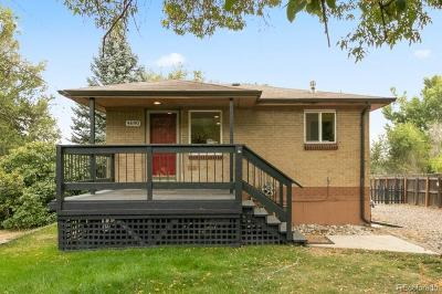 Wheat Ridge Single Family Home Under Contract: 4690 Miller Street