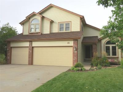 Littleton Single Family Home Under Contract: 18 Pin Oak Drive