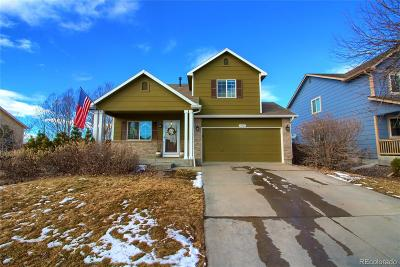 Commerce City CO Single Family Home Under Contract: $355,000