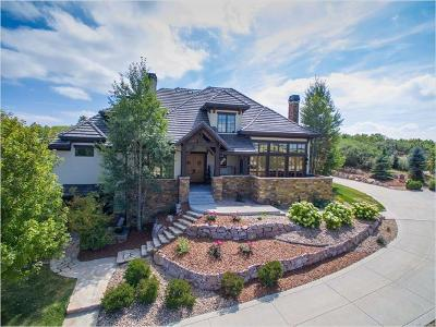 Castle Pines Single Family Home Active: 6670 Twisted Oak Drive