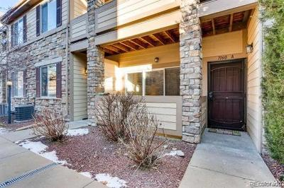 Aurora Condo/Townhouse Active: 7160 South Wenatchee Way #A