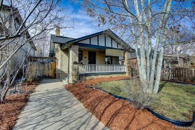 Denver Single Family Home Active: 3401 Newton Street