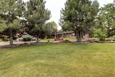 Littleton Single Family Home Under Contract: 4720 Wagon Trail Road