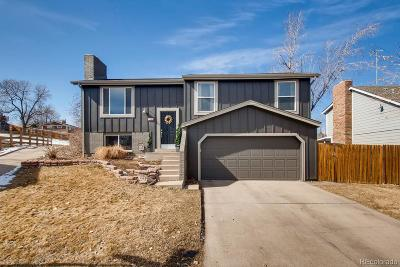 Arvada Single Family Home Active: 7945 Dudley Court