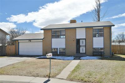 Aurora CO Single Family Home Active: $349,000