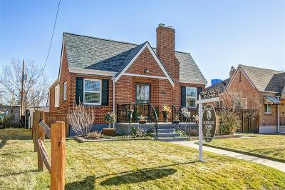 Denver Single Family Home Under Contract: 4228 Decatur Street
