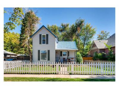 Longmont Single Family Home Under Contract: 916 Kimbark Street
