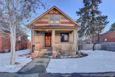 Single Family Home Sold: 4134 Shoshone Street