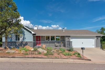 Manitou Springs Single Family Home Under Contract: 330 Sutherland Place