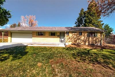 Centennial Single Family Home Under Contract: 661 East Fremont Avenue