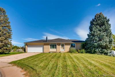Littleton Single Family Home Active: 8757 West Weaver Avenue