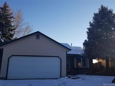 Denver Single Family Home Active: 14890 East 43rd Avenue
