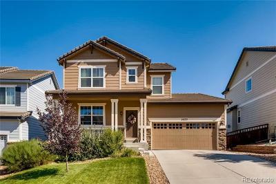Castle Rock Single Family Home Active: 2875 Black Canyon Way