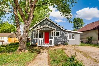 Denver Single Family Home Active: 640 South Newton Street