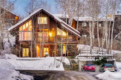 Steamboat Springs Single Family Home Under Contract: 3350 Apres Ski Way