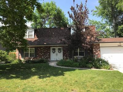 Littleton Single Family Home Active: 5449 West Geddes Avenue