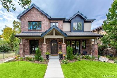 Denver Single Family Home Active: 1475 South Milwaukee Street