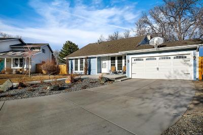 Arvada Single Family Home Under Contract: 8460 Zephyr Court