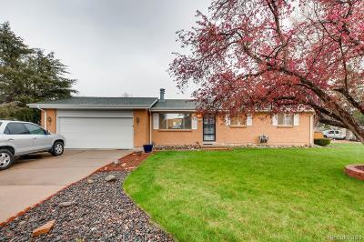 Littleton Single Family Home Under Contract: 4662 South Badger Court