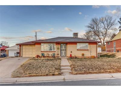 Denver Single Family Home Active: 1367 South Wyandot Street