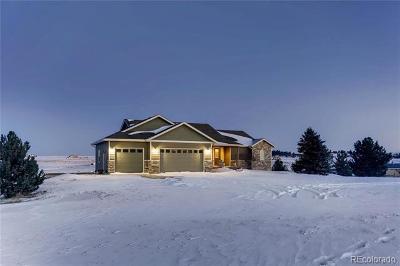 Elbert County Single Family Home Active: 34490 South Falcon Circle