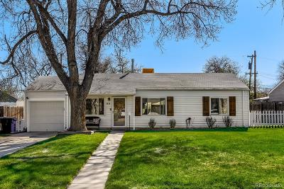 Denver Single Family Home Active: 3026 South Flamingo Way