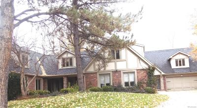 Greenwood Village Single Family Home Active: 10 East Belleview Way