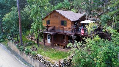 Evergreen Single Family Home Sold: 1211 Beaver Brook Canyon Road