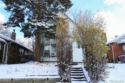 Denver Residential Lots & Land Active: 1356 Newton Street