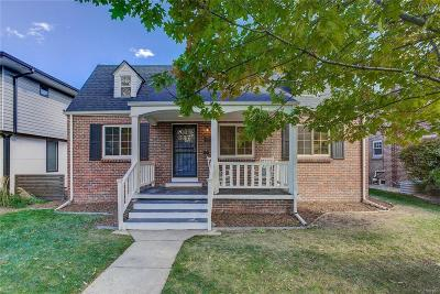 Denver Single Family Home Active: 2320 Jasmine Street