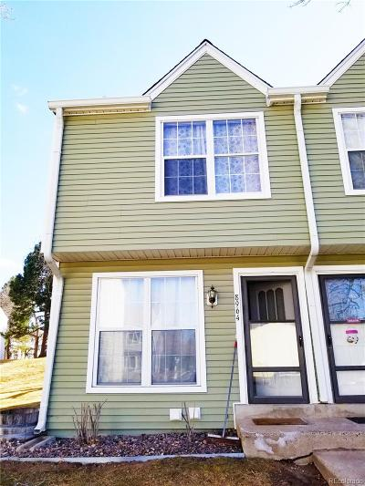 Lakewood Condo/Townhouse Under Contract: 8964 West Dartmouth Place