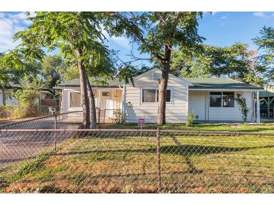 Commerce City Single Family Home Under Contract: 4341 Saurini Boulevard