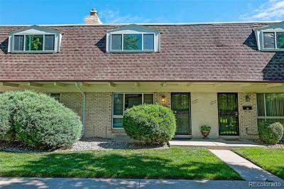 Denver Single Family Home Active: 6424 East Mississippi Avenue