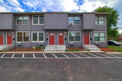 Denver Condo/Townhouse Active: 1132 Rosemary Street