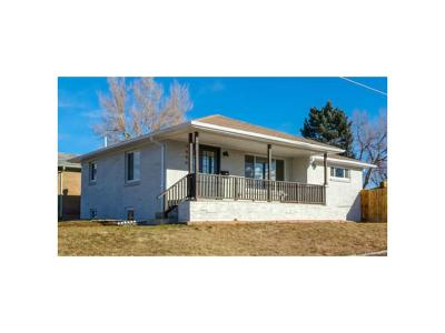 Denver Single Family Home Active: 3600 Ivanhoe Street