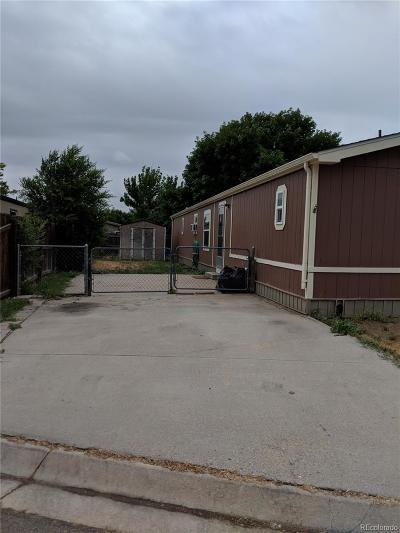Thornton Single Family Home Under Contract: 8450 Adams Way