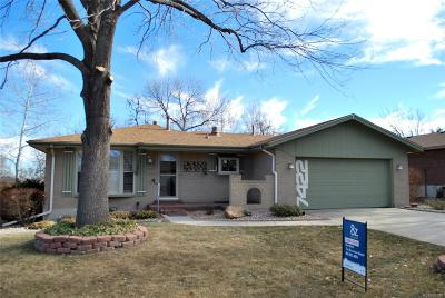 Arvada Single Family Home Active: 7422 Vance Street