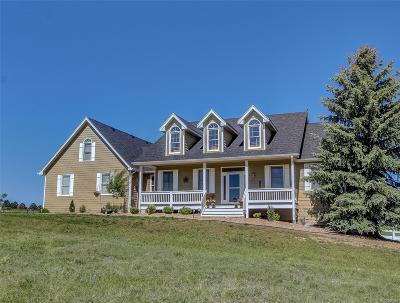 Franktown Single Family Home Active: 1493 Deerpath Road